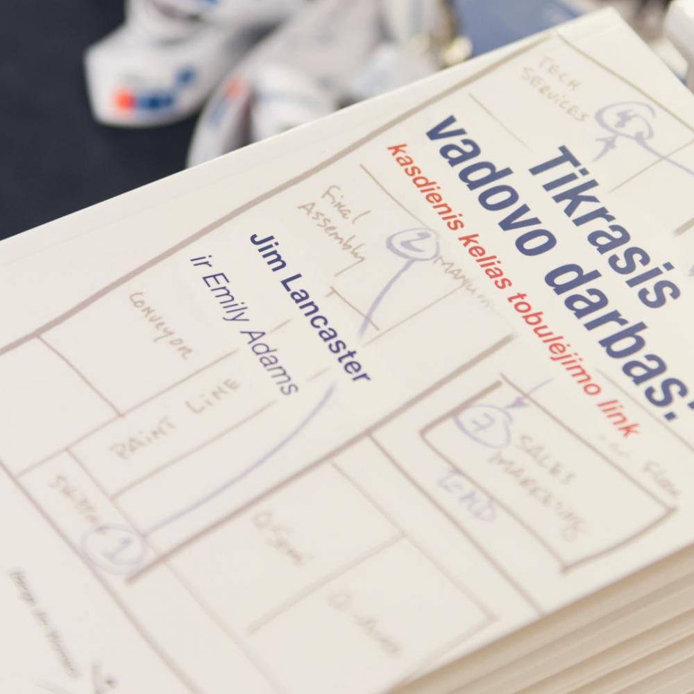 LEAN knyga Tikrasis vadovo darbas