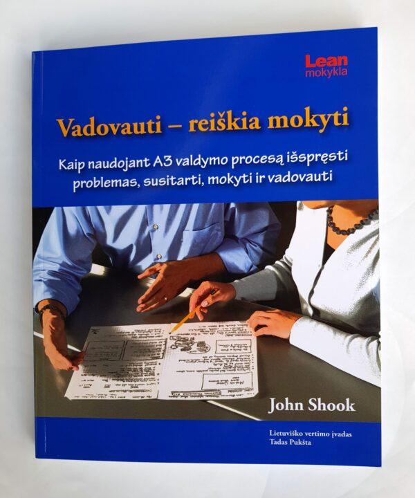 LEAN knyga Vadovauti- reiškia mokyti