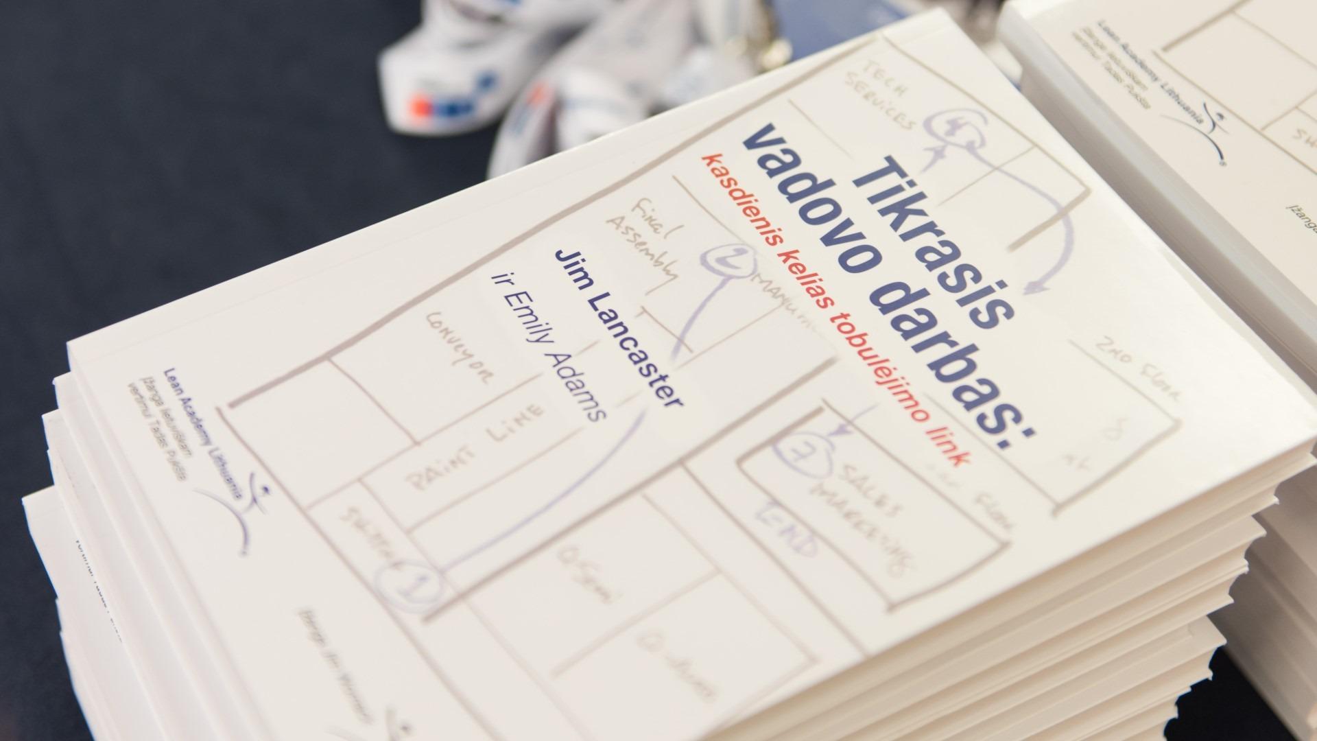 Jim Lancaster Tikrasis vadovo darbas